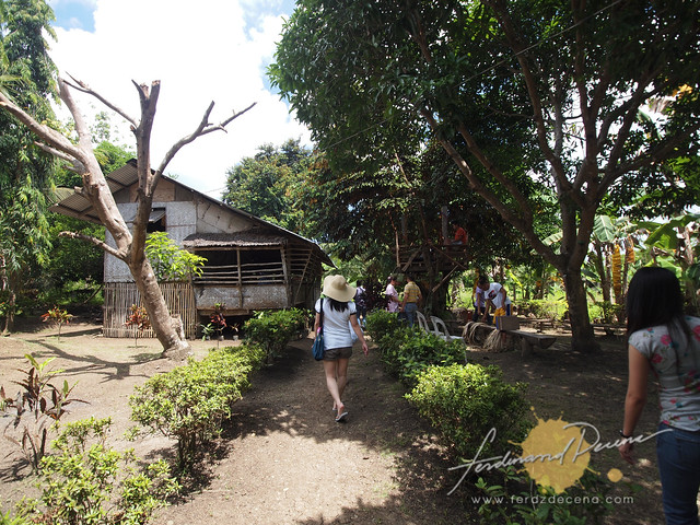 Arriving at the house of a sponsored child's family